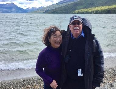 Gail and David in Ushuaia