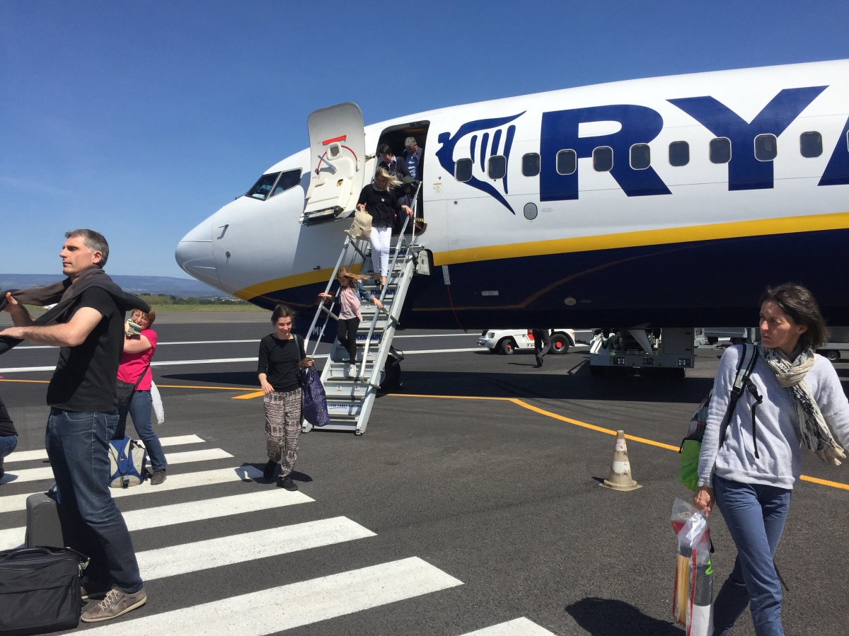 Carcassonne to Porto via Ryanair