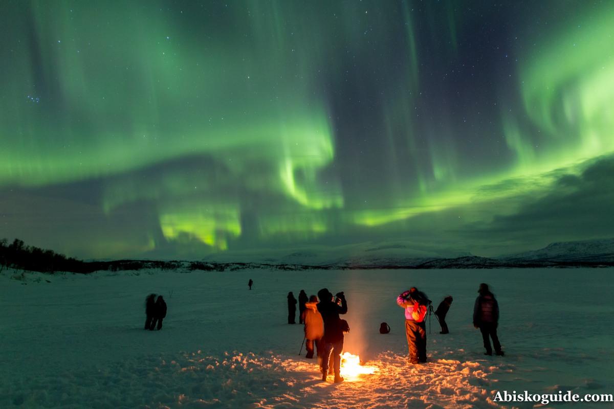 Aurora Borealis in NorthernSweden