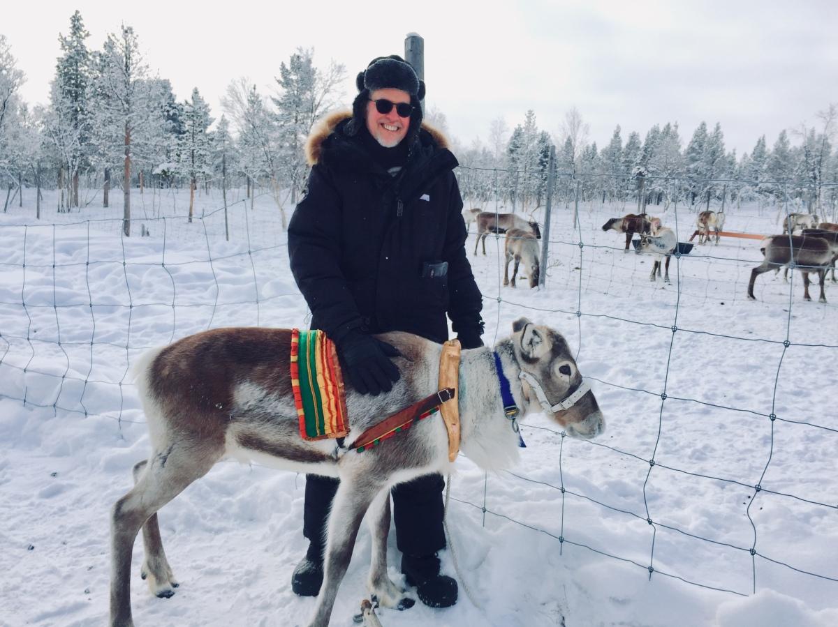 Reindeer Sledding & SamiCulture